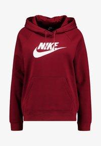 Nike Sportswear - HOODIE - Sweat à capuche - team red/white - 3