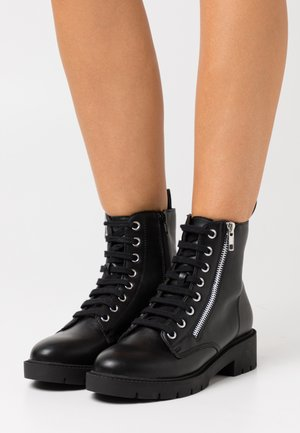 ELITE LACE UP - Lace-up ankle boots - black