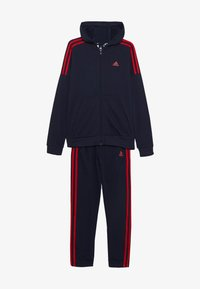adidas Performance - Tracksuit - legend ink/scarlet - 3