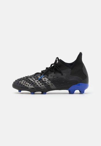 PREDATOR FREAK .1 FG UNISEX - Moulded stud football boots - black