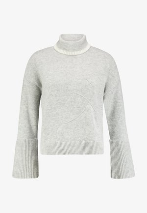 TURTLE NECK - Svetr - grey melange