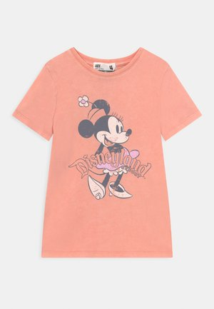 MINI LICENSE SHORT SLEEVE DISNEY TEE - Print T-shirt - musk melon