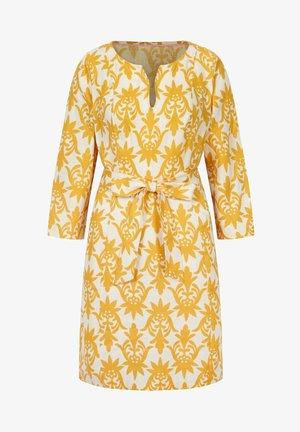 KELSEY - Day dress - naturweiß/tropisches stempelmuster