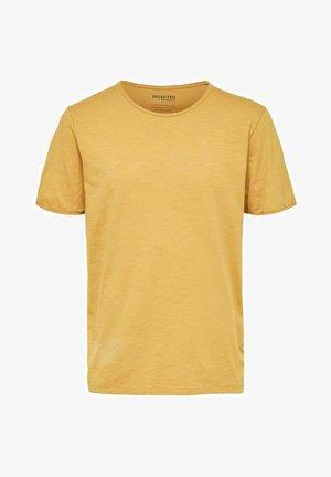 SLHMORGAN O-NECK TEE - Basic T-shirt - wood thrush