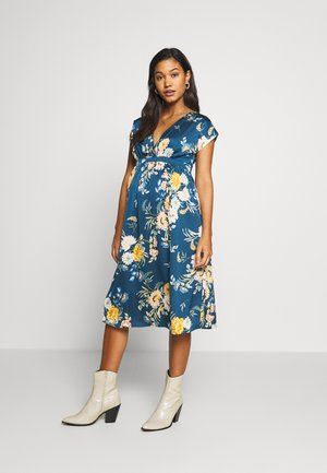 WRAP DRESS - Vestido informal - navy