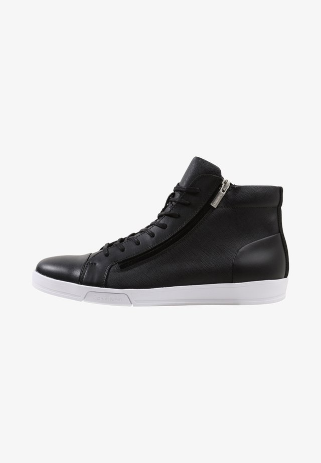 BERKE - High-top trainers - black