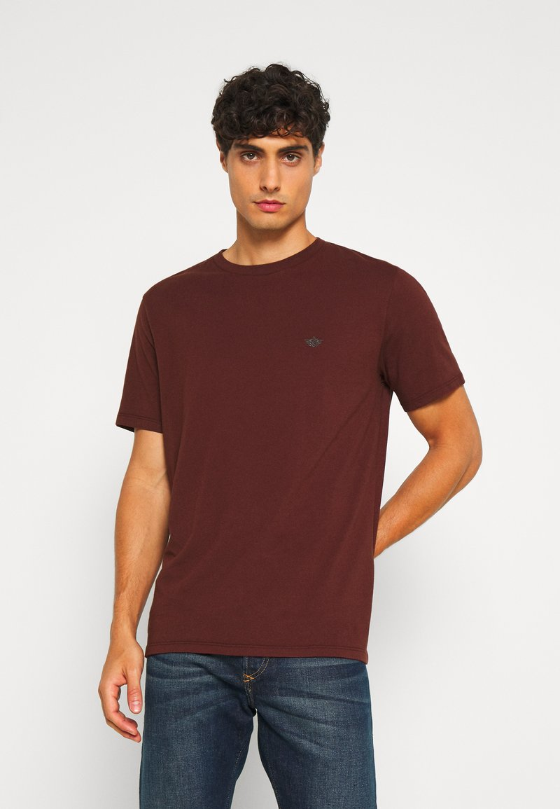 DOCKERS - PACIFIC CREW TEE - Basic T-shirt - chestnut red
