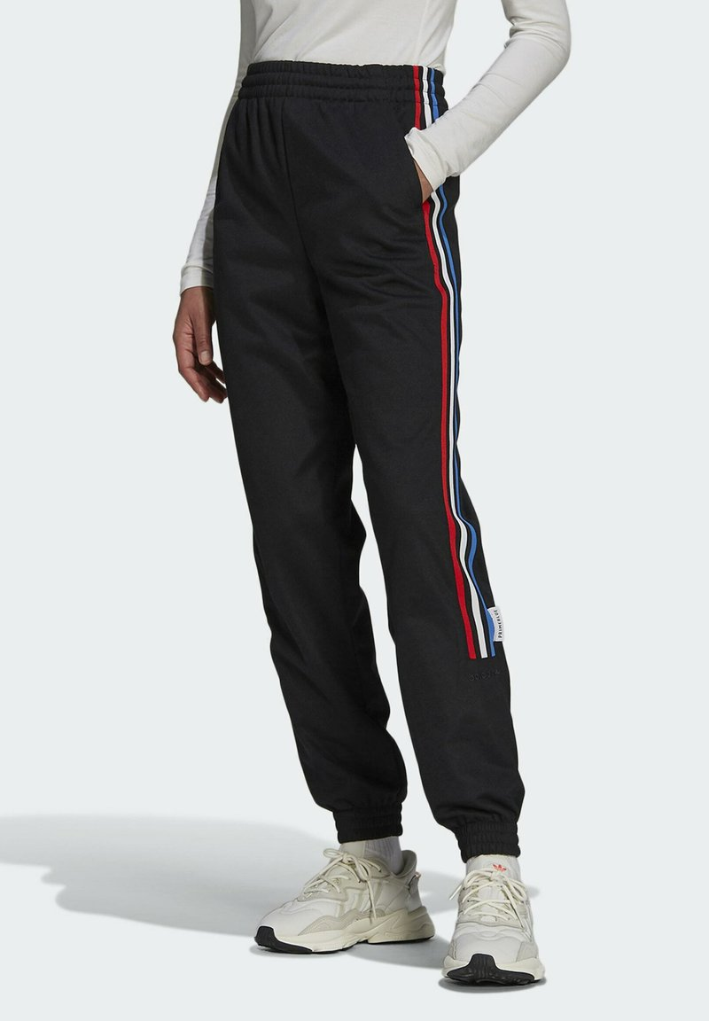 adidas Originals - ADICOLOR TRICOLOR PRIMEBLUE TRACKSUIT BOTTOMS - Tracksuit bottoms - black