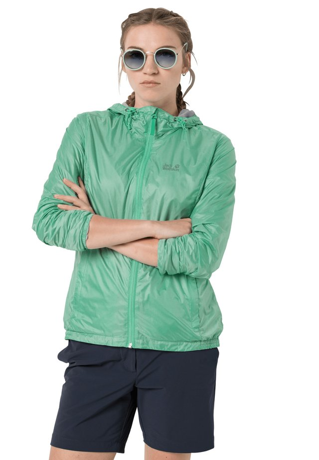 BREATHER W - Waterproof jacket - pacific green