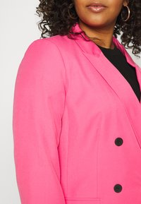 Simply Be - DOUBLE BREASTED BLAZER - Blazer - hot pink - 4
