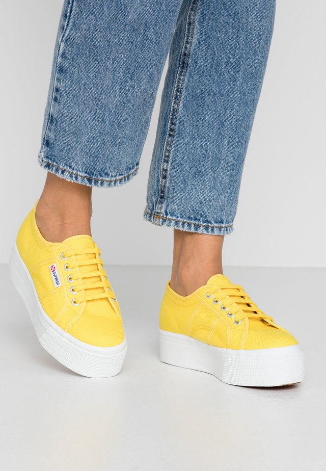 2790 LINEA UP AND DOWN - Sneakers laag - yellow sunflower