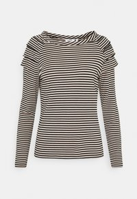 b.young - BYSUVA STRIPE  - Long sleeved top - black mix - 4