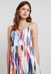KIOMI TALL - Maxi dress - off-white/blue - 3
