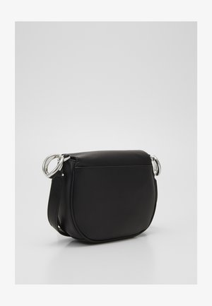 CHAIN SADDLE BAG - Across body bag - black