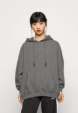 ONLDOVE  OVERSIZE  PETI - Hoodie - medium grey melange
