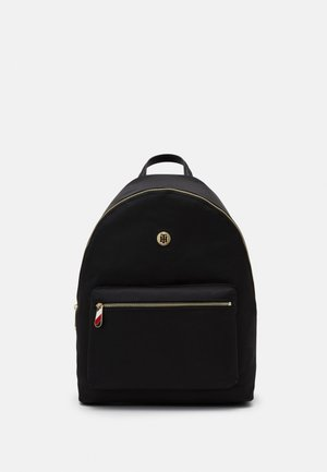 POPPY BACKPACK SOLID - Rucksack - black