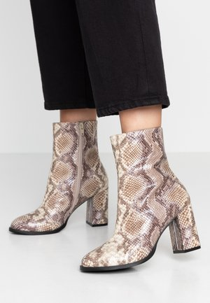 VMNELE BOOT - Classic ankle boots - beige