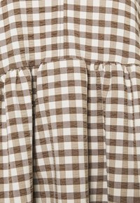 Weekday - HEDVIG DRESS - Day dress - brown check - 2