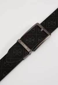 Guess - REVERSIBLE AND ADJUSTABLE BELT - Belt - black - 2