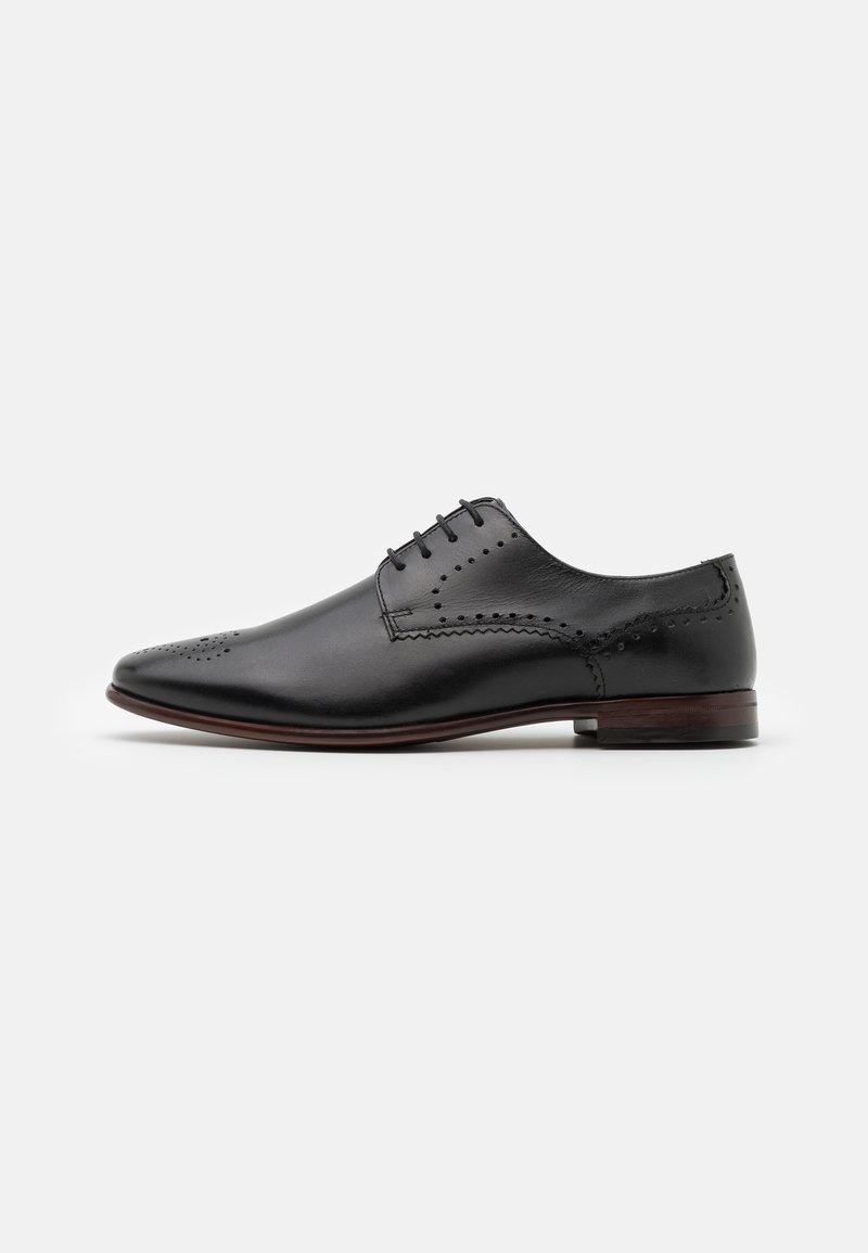 Burton Menswear London - BENSON ROSE - Stringate eleganti - black