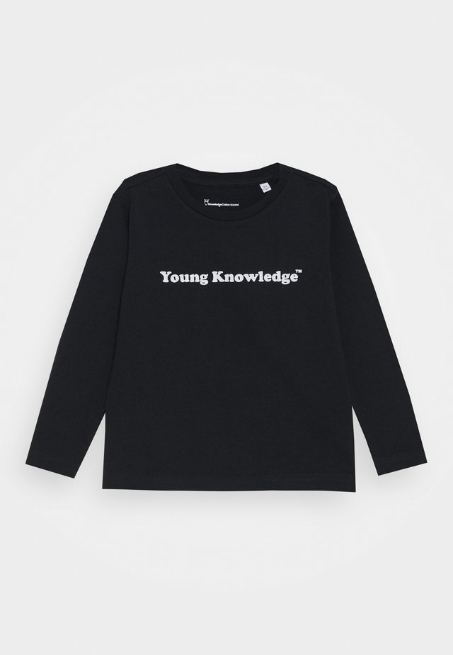 FLAX YOUNG LONG SLEEVE - Long sleeved top - total eclipse