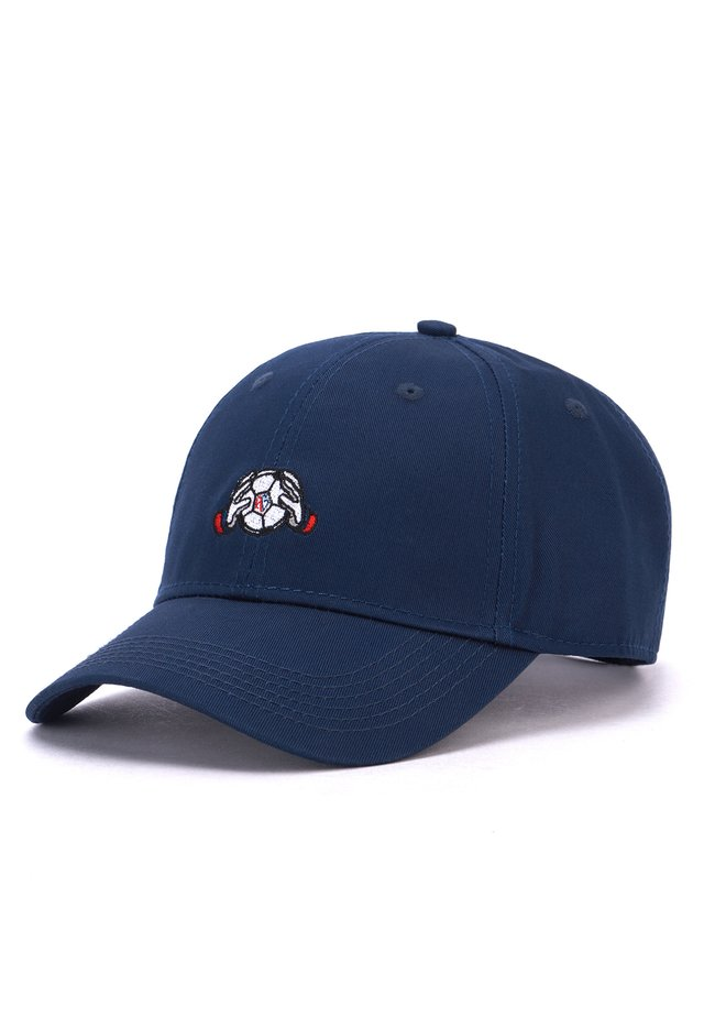 MISTER TEE CAP HOG KEEPER CURVED CAP - Cap - navy/white