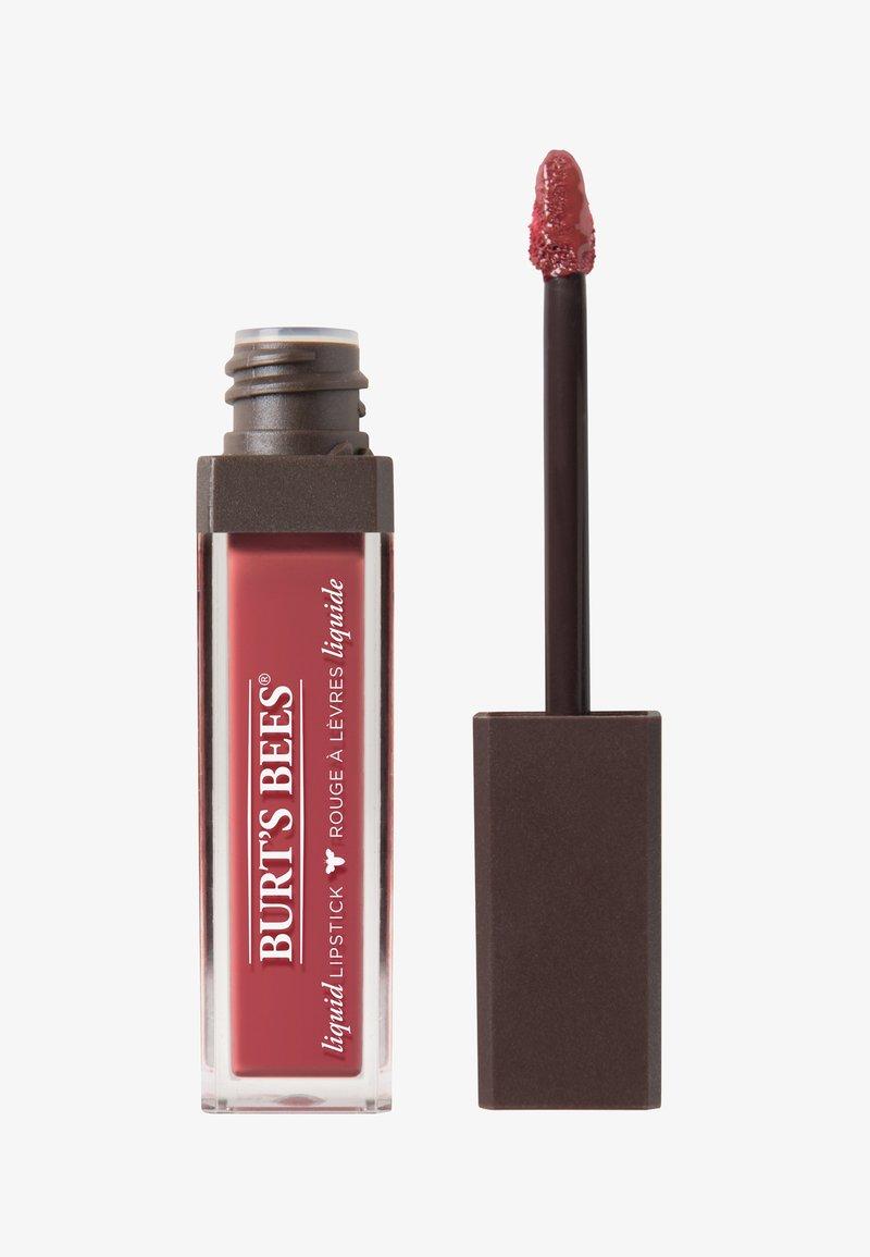 Burt's Bees - LIQUID LIP STICK - Liquid lipstick - flushed petal