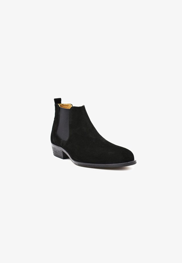 Ankle boot - black suede