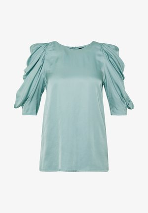 CHARLOTTE BLOUSE - Blouse - aqua blue