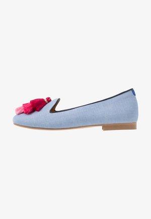 AUGUSTE - Nazouvací boty - light blue/pink