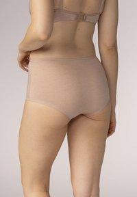 Mey - SERIE EASY COTTON - Pants - cream tan melange - 1