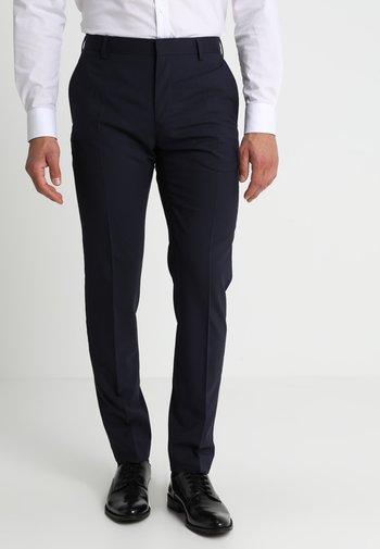 Oblekové kalhoty - navy