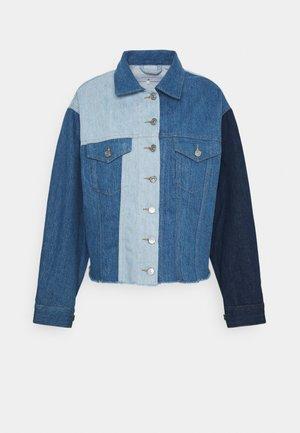 TRUCKER INDIGO SHADES - Kurtka jeansowa - blue