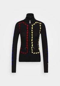 INDI FULL ZIP - Zip-up hoodie - black