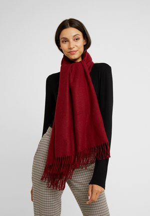FACE - Scarf - bordeaux red