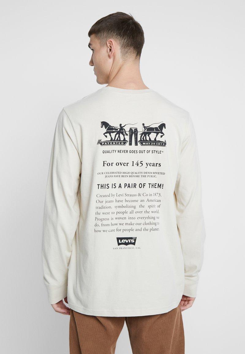 Levi's® - RELAXED GRAPHIC TEE - Långärmad tröja - fog