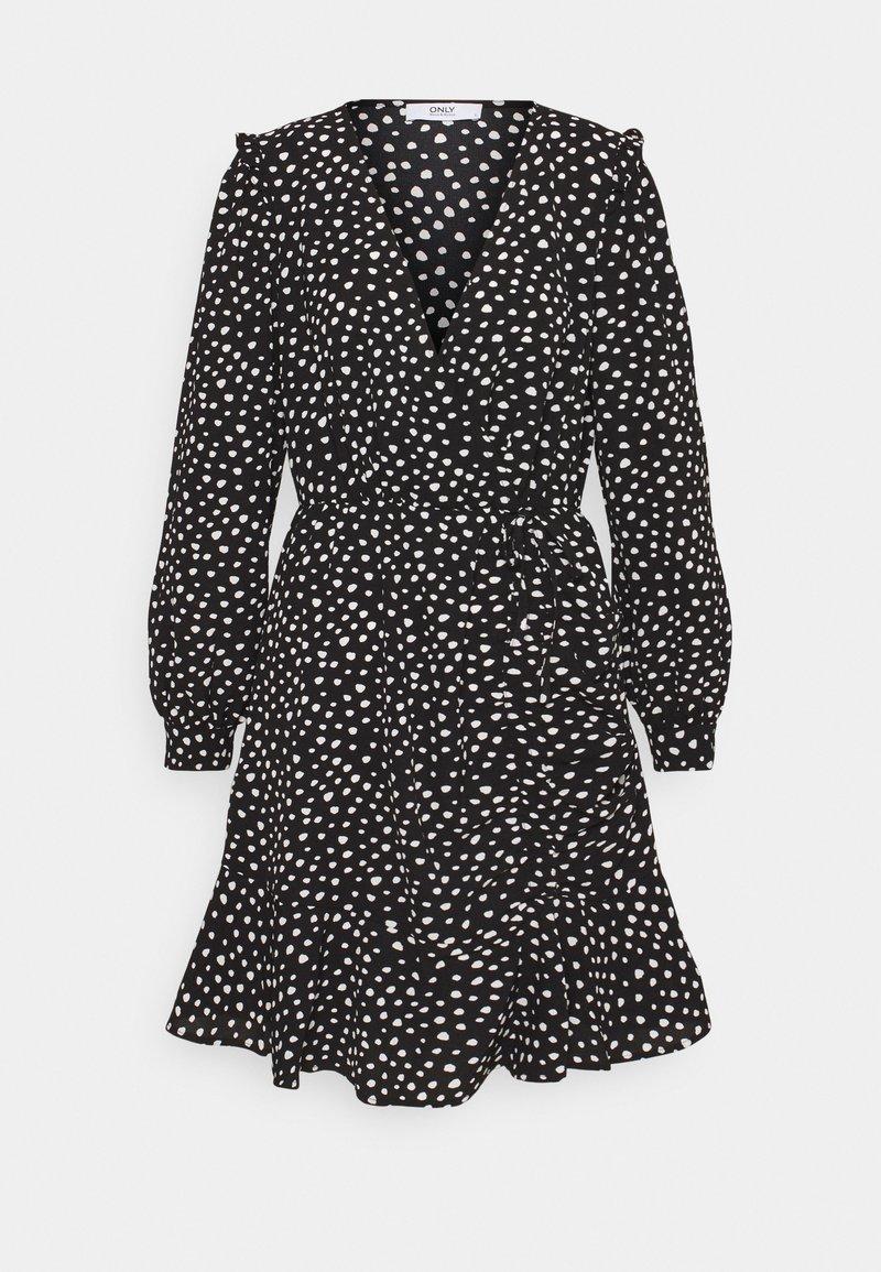 ONLY Tall - ONLSANDY DRESS - Day dress - black/white