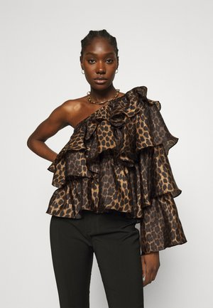 FIGAROCRAS BLOUSE - Long sleeved top - black