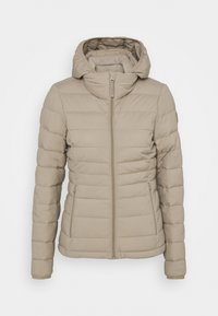 Abercrombie & Fitch - PACKABLE PUFFER POLY - Light jacket - grey - 4