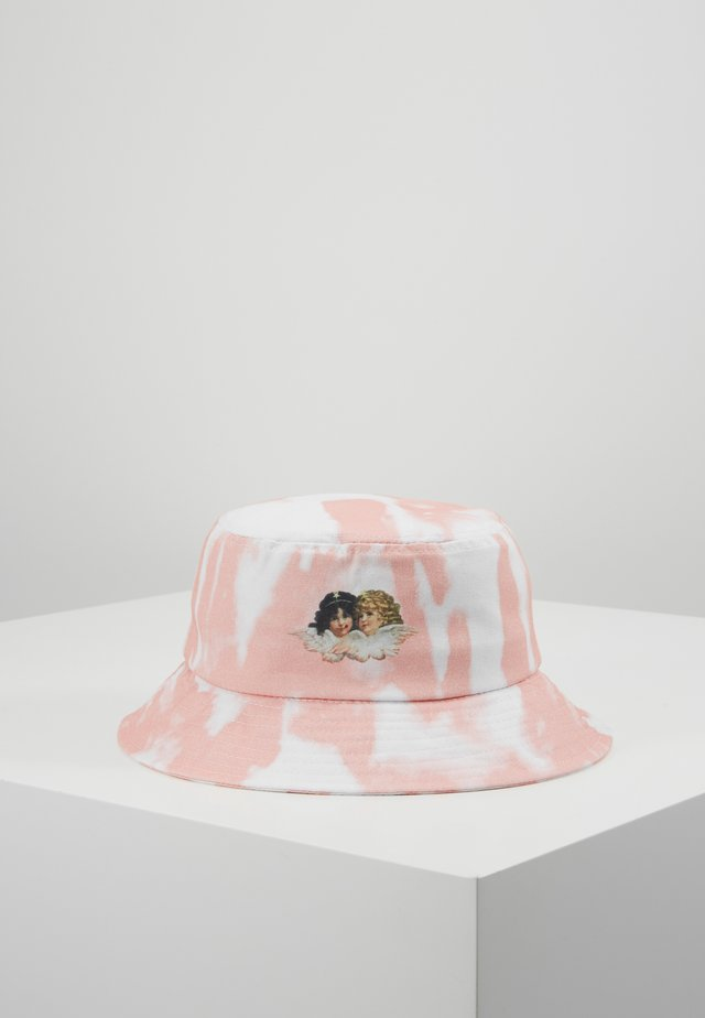 TIE DYE BUCKET HAT - Hat - pink