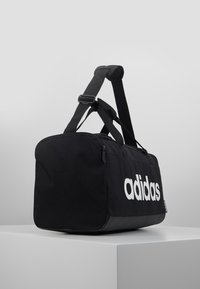 adidas Performance - ESSENTIALS LINEAR SPORT DUFFEL BAG UNISEX - Torba sportowa - black/white - 3