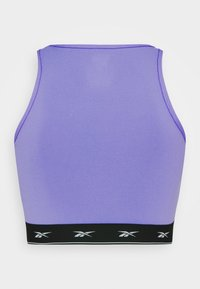 Reebok - BEYOND THE SWEAT CROP - Medium support sports bra - hyper purple - 5