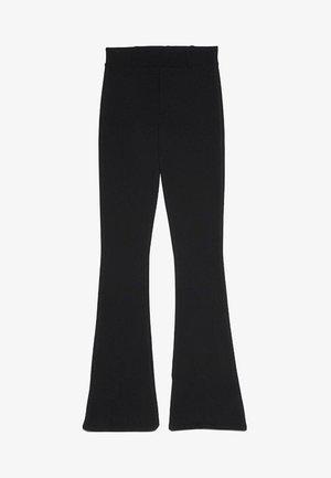 MIT SCHLAG  - Trousers - black