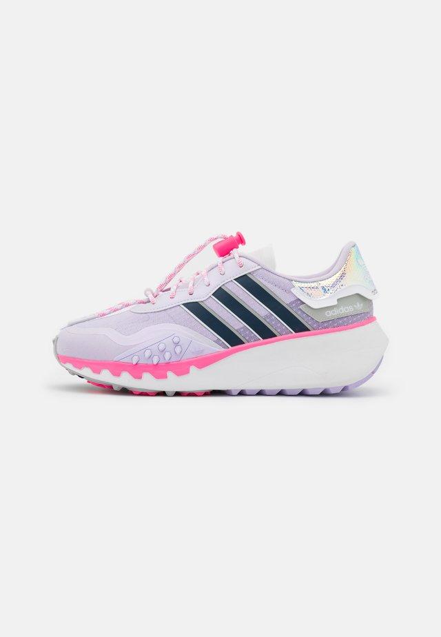 CHOIGO RUNNER  - Trainers - purple tint/crew navy/solar pink