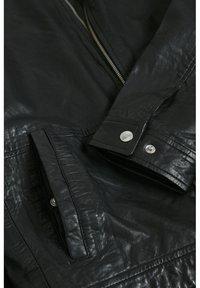 Matinique - Leather jacket - black - 7