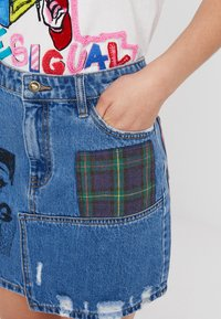 Desigual - FAL COMIC - A-Linien-Rock - denim medium wash - 3
