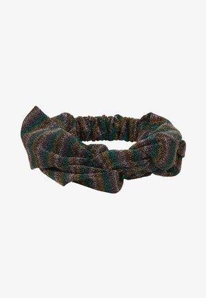 GLITZ HAIRBAND - Hair styling accessory - grass green metallic