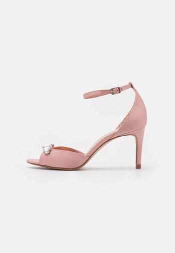GLEAMY - Sandals - light pink