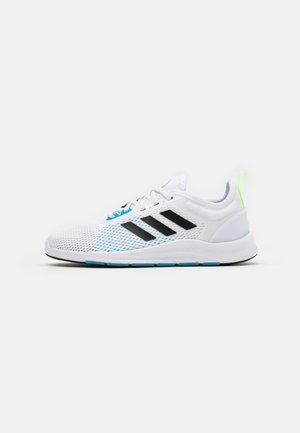 ASWEETRAIN - Sports shoes - footwear white/core black/signal cyan
