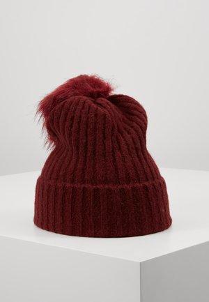 Mütze - tawny port
